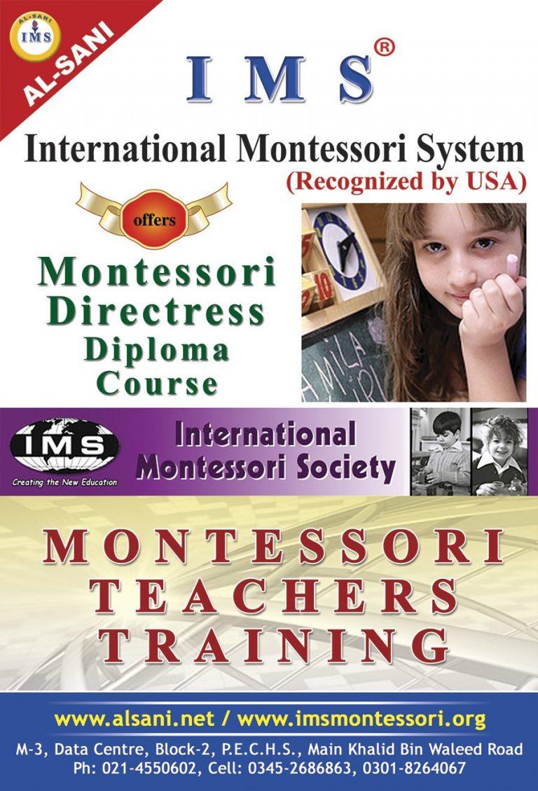 Montessori Teachers Training Brochure