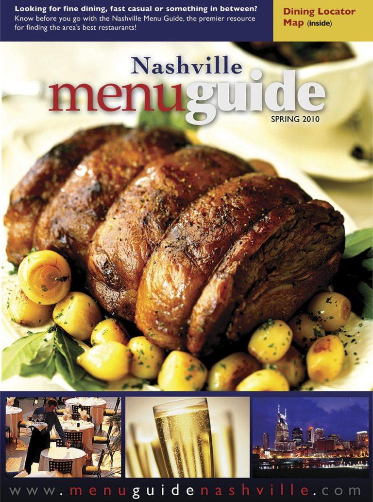 Nashville Menu Guide Spring 2010
