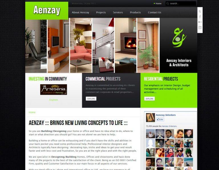 Aenzay Interiors & Architects