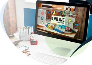 web design digital marketing agency background